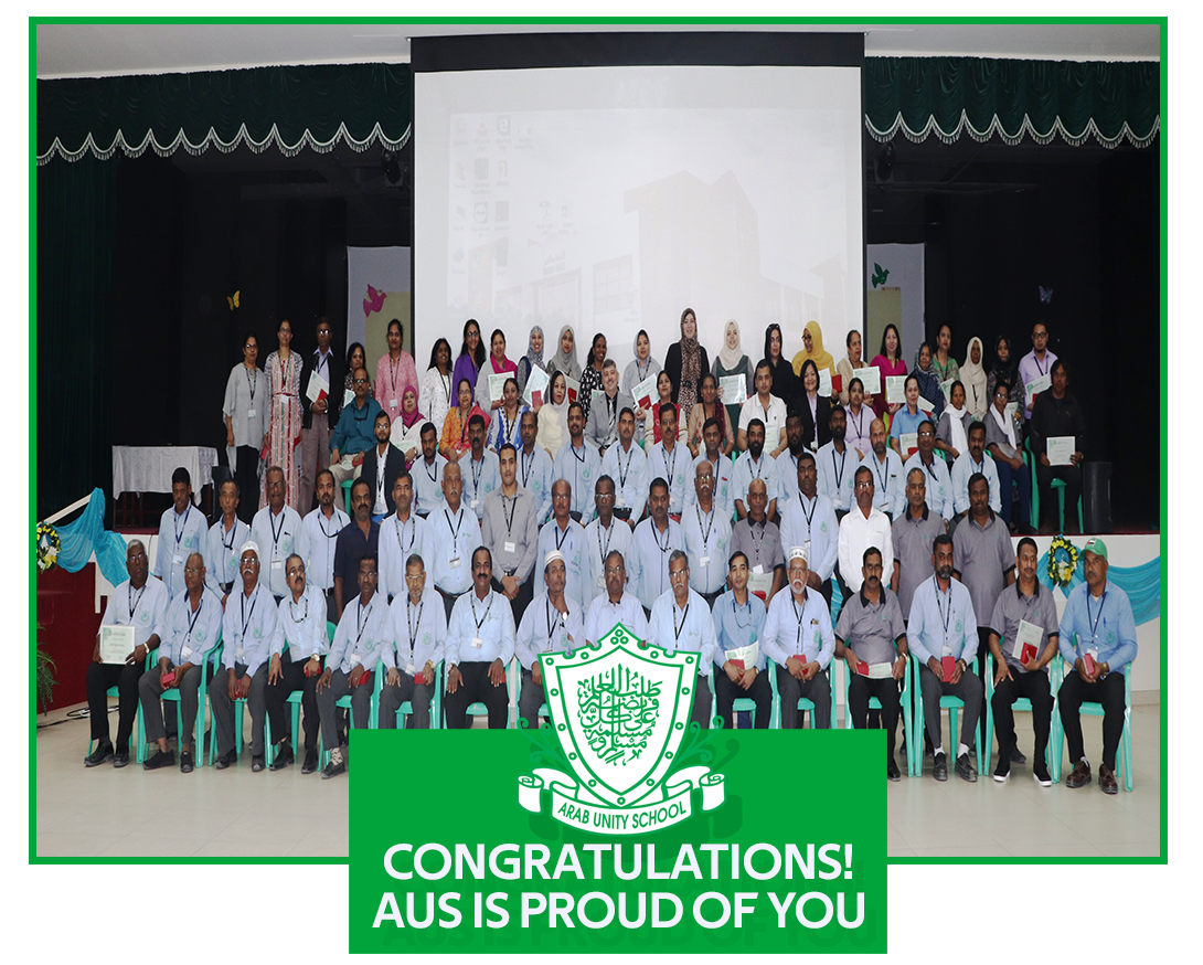 10 years and above of service to Arab Unity School